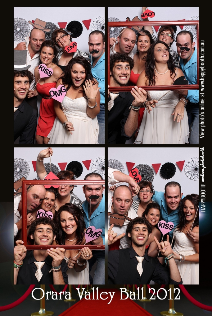 Orara Valley Ball Coffs Harbour Photo booth