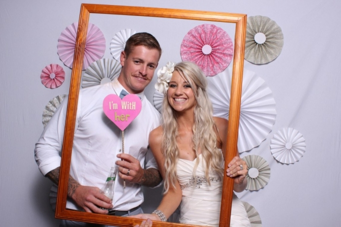 hunter valley wedding photo booth