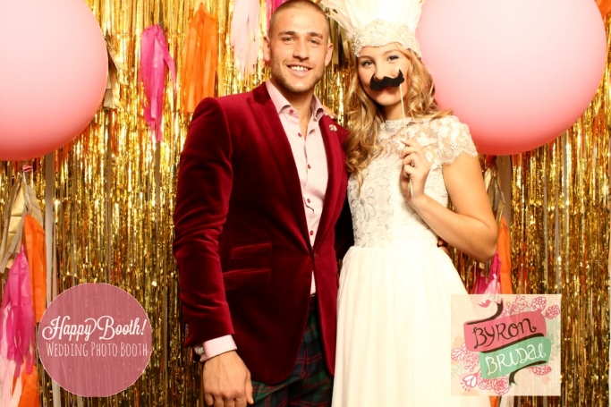 Byron Bay Wedding Photo Booth
