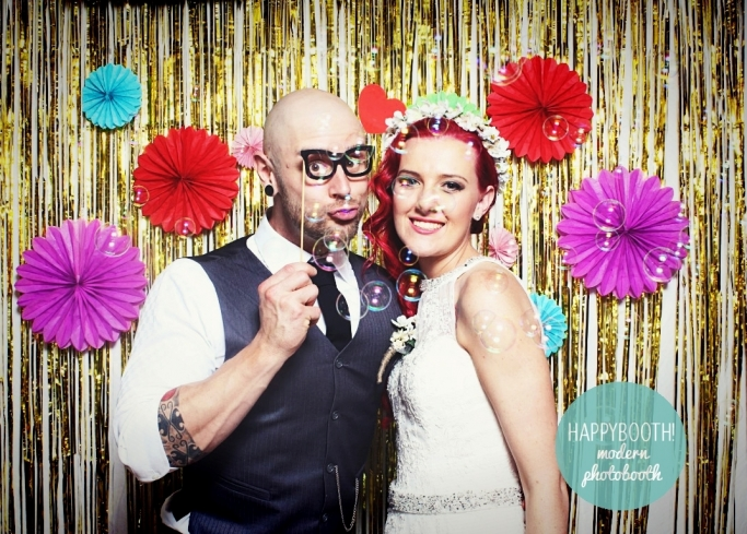 hunter valley wedding photobooth