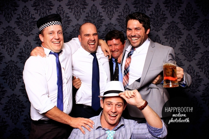 Happybooth images from pirates rugby clu presenation night in Tamworth