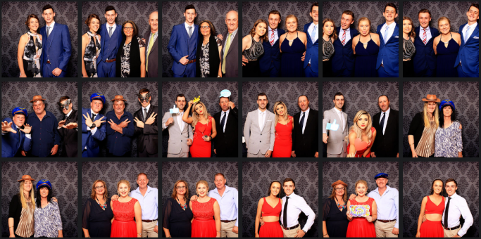 Coonabarabran High School Formal 2017_Photo booth hire_Happy booth_tamworth coffs harbour