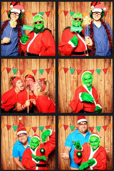 coffs harbour christmas party photo booth club 300 bowling