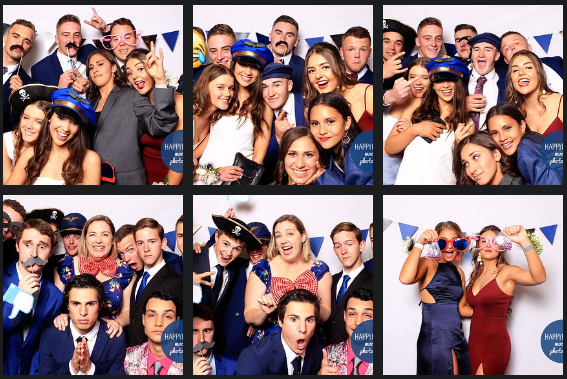 Farrer school formal at west leagues club 2018 photo booth images from happy booth