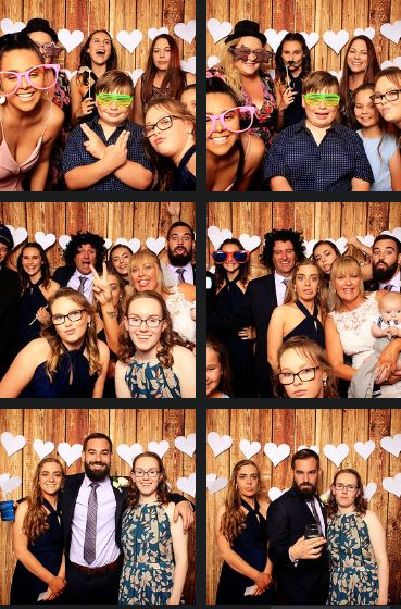Tamworth photo booth hire nsw Tamworth Jockey Club Wedding