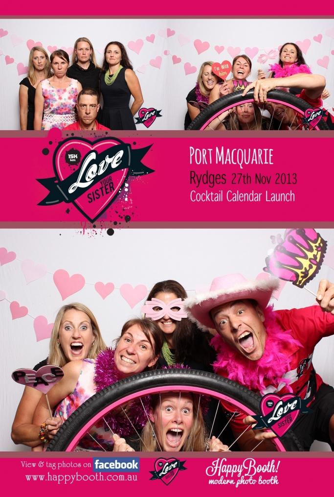 Port Macquarie Photo Booth Love Your Sister