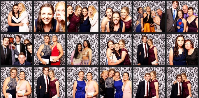 school formal photobooth images mccarthy tamworth