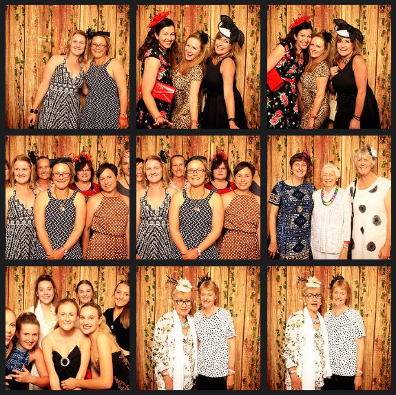 photo booth at armidale city bowling club for ms fund raiser